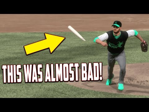 THIS WAS ALMOST BAD! MLB The Show 17   Battle Royale