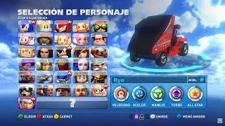 Sonic & All Stars Racing Transformed TODOS LOS PERSONAJES PC (ACTUALIZADO 2018)  HD 60fps