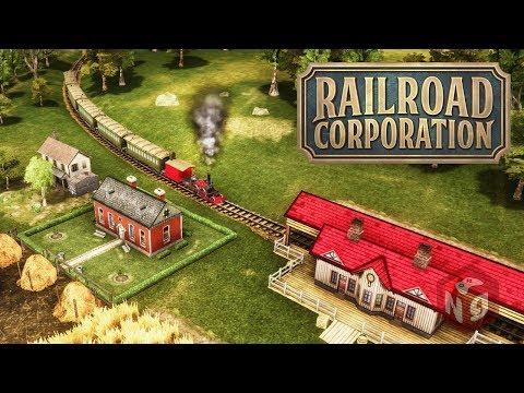 Railroad Corporation - 🚂Новая стратегия о старых паровозах!🚂