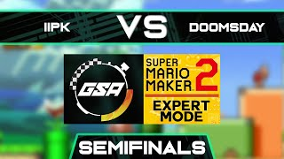 iiPK vs Doomsday | Semifinals | GSA SMM2 Expert Mode Speedrun League Playoffs Season 3