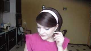 элегантное ретро: укладка для коротких и средних волос