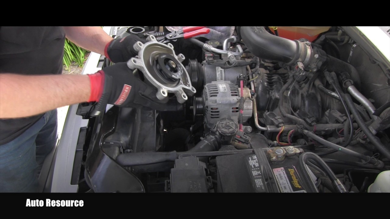 how to replace water pump on jeep 3 7 v6 engine youtube. Black Bedroom Furniture Sets. Home Design Ideas