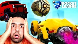 ROCKET LEAGUE DE ATILMIŞ AKIL ALMAZ GOLLER !