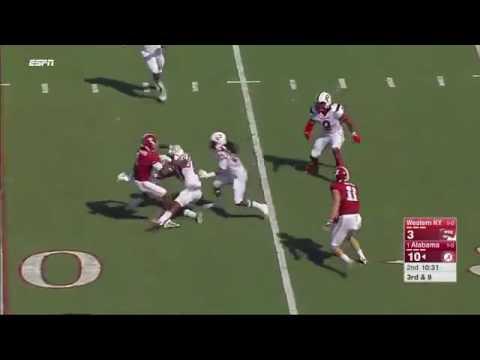 Jalen Hurts vs Western Kentucky (2016)