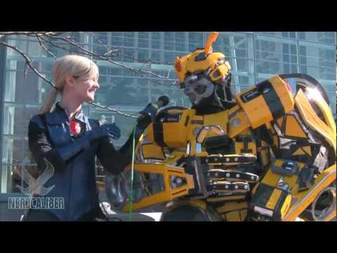 Huge BUMBLEBEE Cosplay By Extreme Costumes