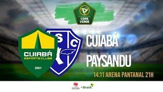 AO VIVO | Cuiabá x Paysandu - Final da  Copa Verde 2019 | Jogo 01