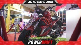 Okinawa Oki 100 @ Auto Expo 2018 : PowerDrift