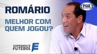 MELHOR COM QUEM JOGOU? EDMUNDO FALA DE ROMÁRIO!