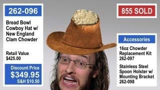 Bread Bowl Cowboy Hat
