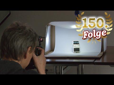 Lichtzelt im Eigenbau für hochwertige Produktfotos – Blende 8 – Folge 150
