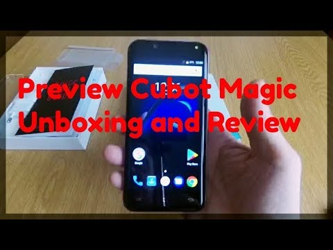Cubot Magic Preview ITA, EUROPE, World..Unboxing & Review