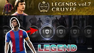 Pes 2018 mobile | LEGEND CRUYFF Pack Opening!!!