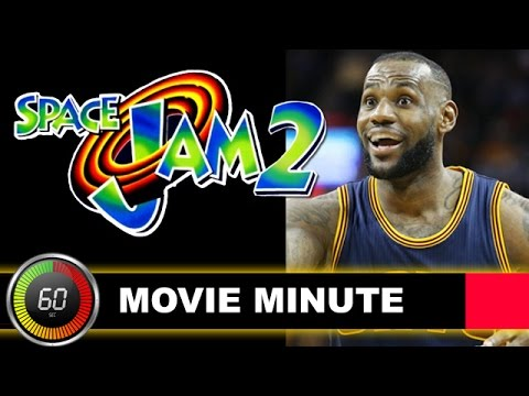 Space Jam 2 with LeBron James 2d9b29dbf
