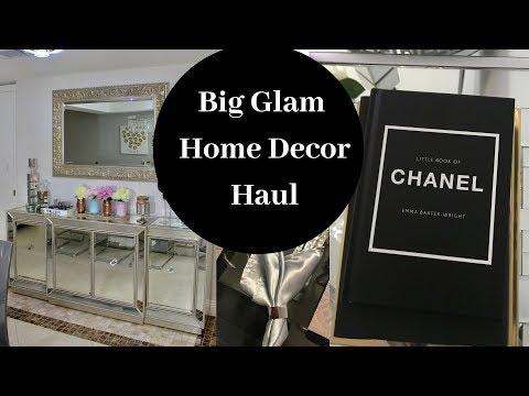 big-glam-home-decor-haul-chanel,-amazon,-el-dorado-furniture-i-dining-room-update