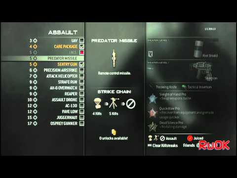 MW3-TUTORIAL Riot shield lunge ps3-xbox-pc