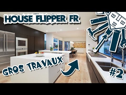 LA GRANDE RÉNOVATION 2 - La belle chambre !! HOUSE FLIPPER FR