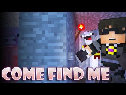 Minecraft Custom Adventure Map : COME FIND ME! w/ Facecam!