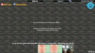 AoE  Đỉnh Cao 44 Random BiBiClub vs GameTV Ngày 13-12-2017