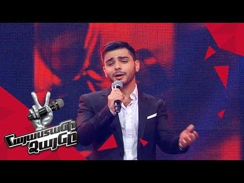 Harutyun  Indzheyan  sings 'Say Something' - Blind Auditions - The Voice of Armenia - Season 4