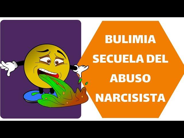 Bulimia, una de las secuelas del abuso de una madre narcisista