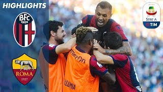 Bologna 2-0 Roma | First Victory of the Season for Bologna! | Serie A