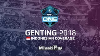 🔴LIVE: MINESKI VS TNC @ESL ONE GENTING 2018 Group Stage Day 1 Indonesia Coverage