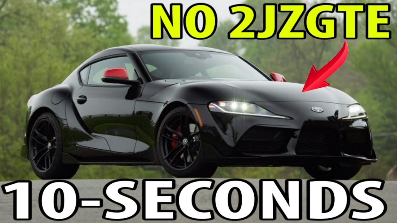 1st 10 Second 1 4 Mile 2020 Mk5 Supra Youtube