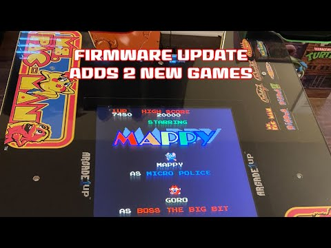 Mappy and Pac and Pal Added to Ms Pac-Man Arcade1up Head to Head from SonicGT73