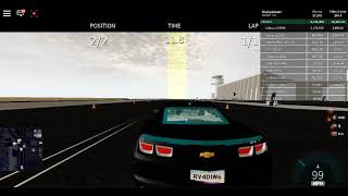 Me being Stupid in Vehicle Simulator on Roblox