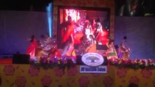 Garba in central world vishva hindu parishad