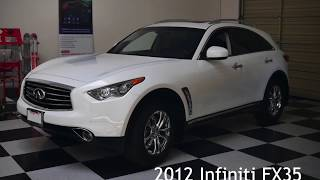 homepage tile video photo for VLine Infotainment and Navigation System Installation Tip into Infiniti FX35 2012 - behind glove box