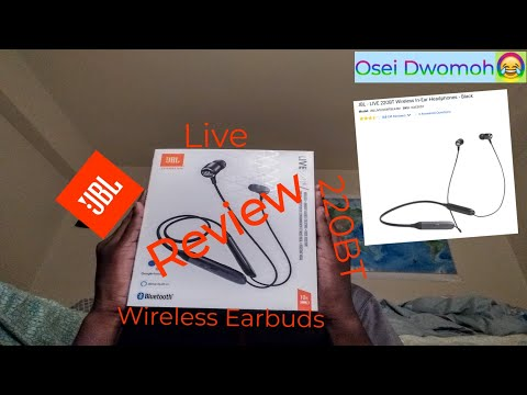 JBL Live 220BT  Wireless Bluetooth Earbuds Review - Osei Dwomoh