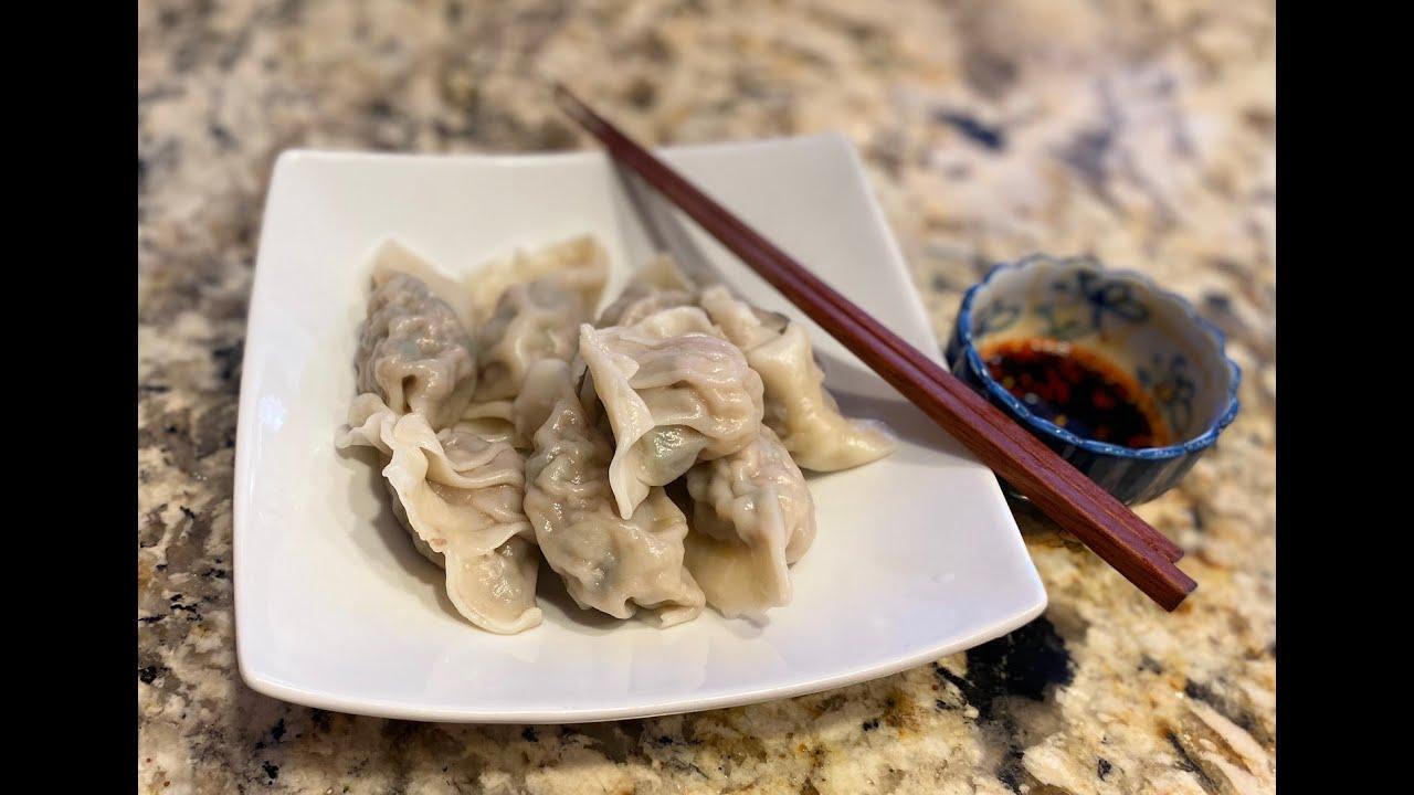 周末包饺子🥟 新手快速包饺子的秘诀✋ 怎么保存包好的饺子 | Make dumplings with me