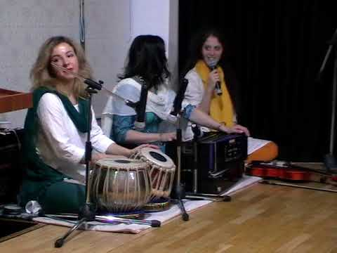Indian Classical Singing By Russian Artist