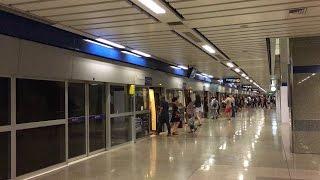 【タイ】 バンコク・メトロ (MRT) チャトゥチャック公園駅 Bangkok MRT Chatuchak Park Station สถานีสวนจตุจักร (2017.3)