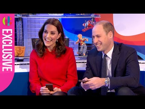 Prince William and Kate receive their Gold Blue Peter Badges
