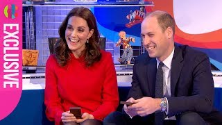 Prince William and Kate receive their Gold Blue Peter Badges!