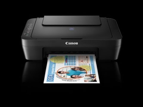 Canon Pixma E470, Unbox, Hands On and First View.