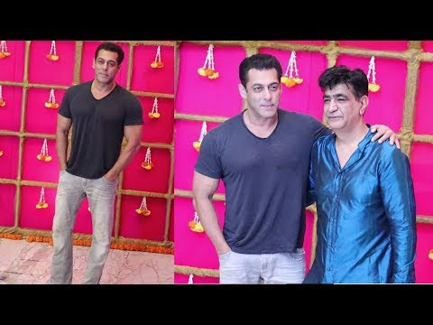 Salman Khan's GRAND ENTRY at Bhushan Kumar's Diwali Party 2019