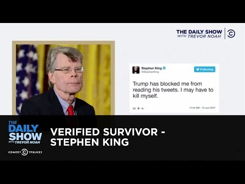 Download Youtube: Verified Survivor - Stephen King: The Daily Show
