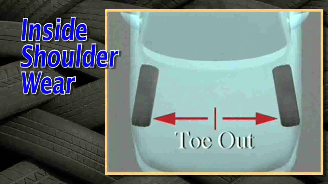 the causes amp solutions of inside shoulder tire wear