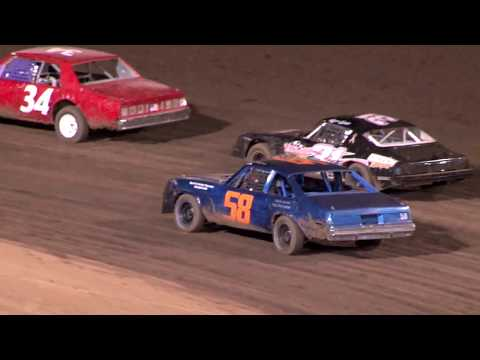 Perris Auto Speedway  9-9-17 American Factory Stock Main Event Highlights
