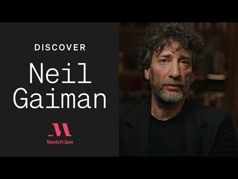Writing Advice from Neil Gaiman   Discover MasterClass   MasterClass