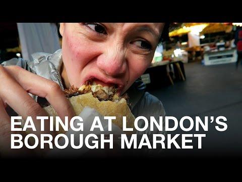 Eating at London's Borough Market