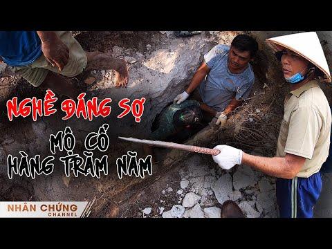 Những người đàn ông làm nghề đáng sợ phát hiện những điều kỳ lạ ở 2 mộ cổ hàng trăm năm