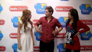 Bella Thorne and Zendaya Talk About Learning Dance Moves on Celebrity Take With Jake | Radio Disney