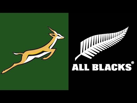 Rugby Test Match - Springboks vs All Blacks 15 August 1992