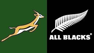 Rugby Test Match  Springboks vs All Blacks 15 August 1992