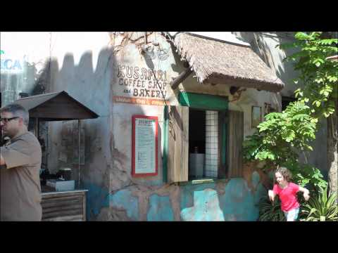 Kusafiri Coffee Shop & Bakery in Disney's Animal Kingdom (HD 1080p)