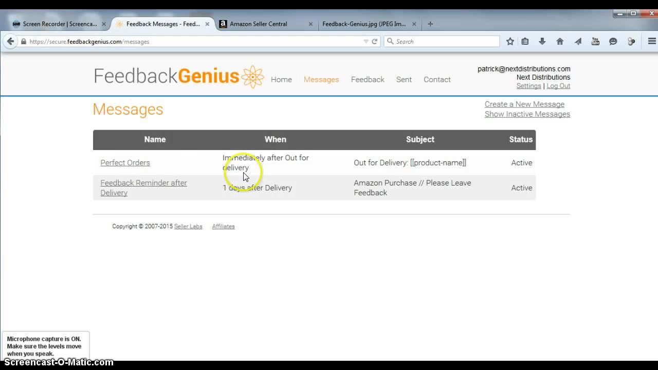 feedback genius seller labs